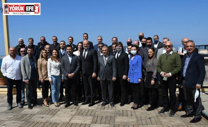 Başkan Günel KUGİAD'ın Olağan Genel Kurul toplantısına katıldı