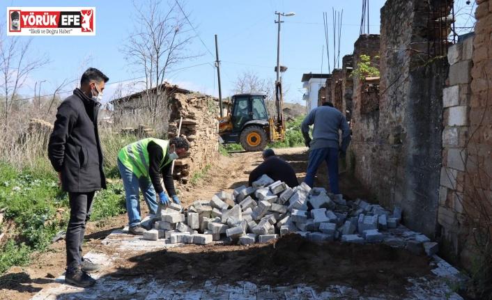 """Başkan Özcan; """"Köylerimize hizmet için çalışmaya devam ediyoruz"""""""