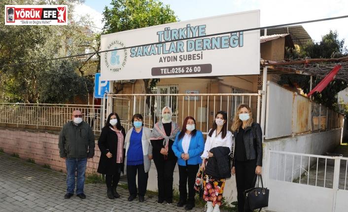 'Engelli Dostu ADÜ' projesi için engelli dernekleri ziyaret edildi