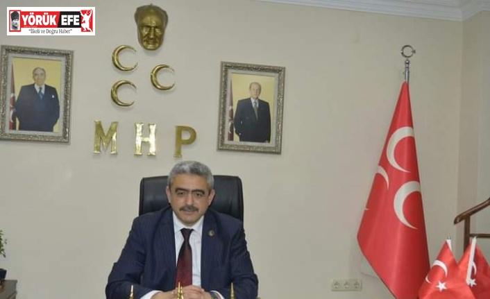 MHP Aydın İl Başkanı Alıcık'tan Berat Kandili mesajı