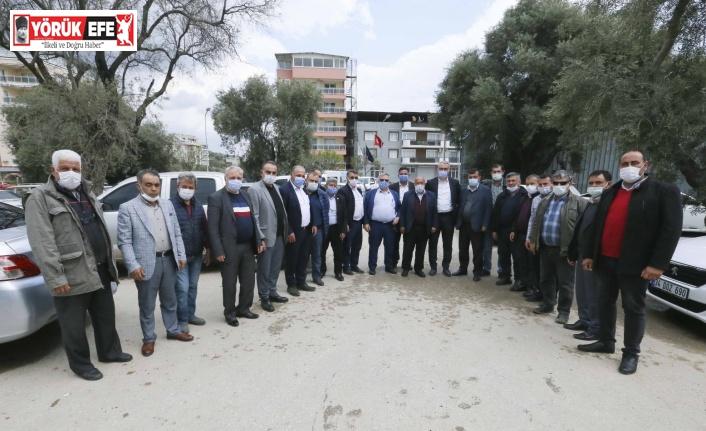 Aydın Büyükşehir Belediyesi Köşklü muhtarların taleplerini dinledi