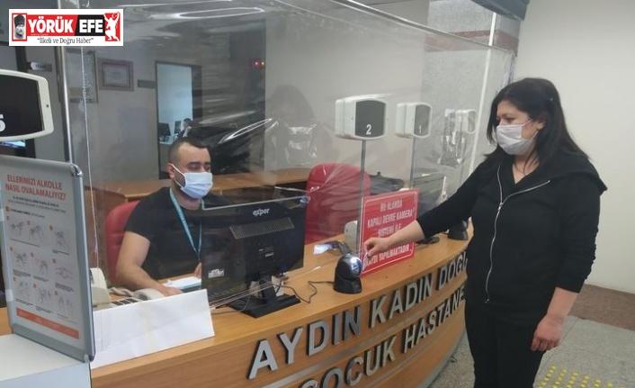 Aydın Kadın Doğum ve Çocuk Hastalıkları Hastanesi'nde temassız randevu dönemi
