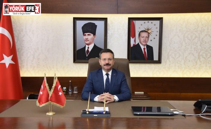 Aydın Valisi Aksoy'dan 'Sağlık Haftası' mesajı