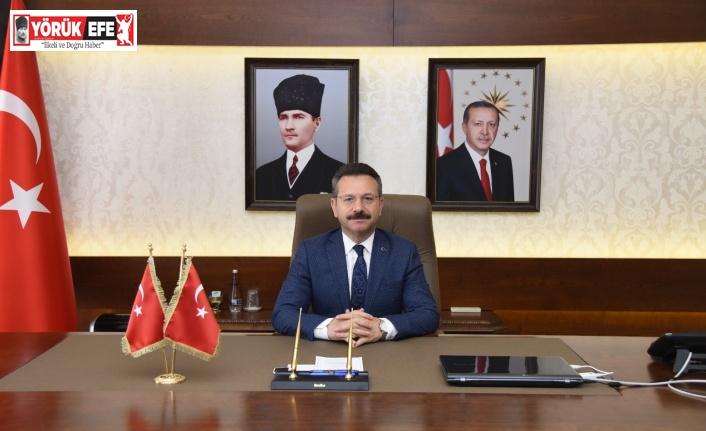 Aydın Valisi Hüseyin Aksoy'un '5 Nisan Avukatlar Günü' mesajı