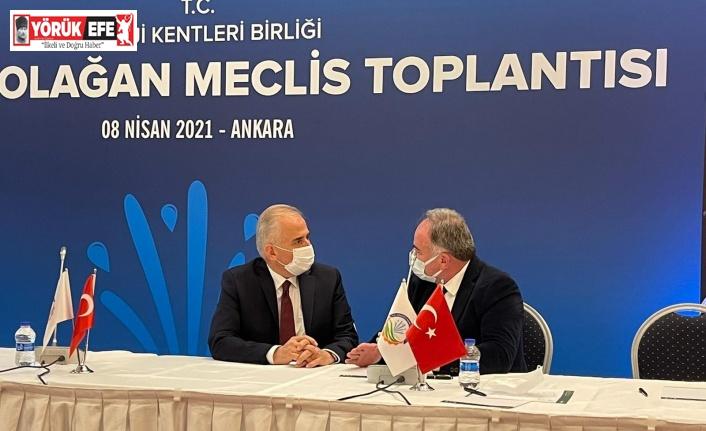 Başkan Öndeş, Enerji Kentleri Birliği meclis toplantısına katıldı