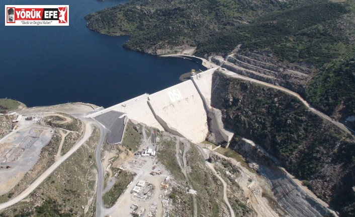 Çine Adnan Menderes Barajı'ndan milli ekonomiye 2 milyarlık katkı