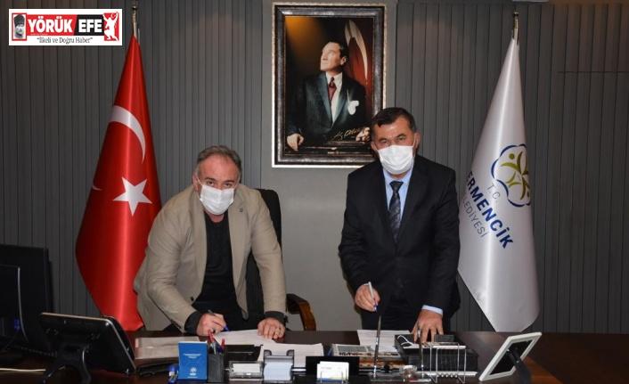 Germencik Belediyesi ve Germencik Tapu Müdürlüğü arasında protokol imzalandı