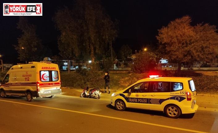 Kuşadası'nda motosiklet kazası: 2 yaralı