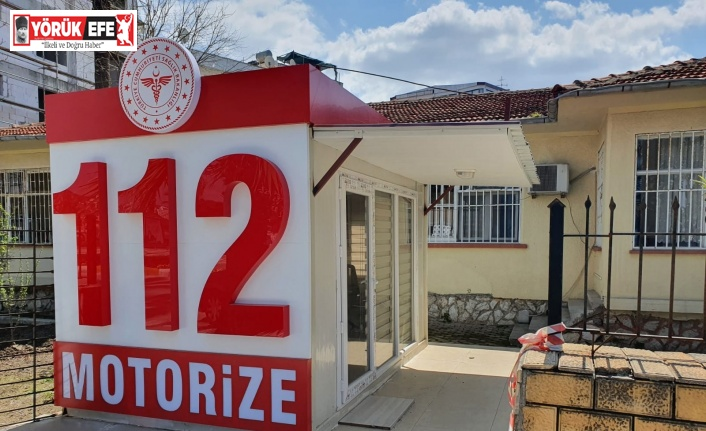 Kuşadası'nda yeni 112 istasyonu ve motorize ekip göreve hazır