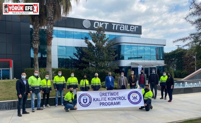 OKT Trailer ADÜ'lü öğrencilere kapılarını açtı