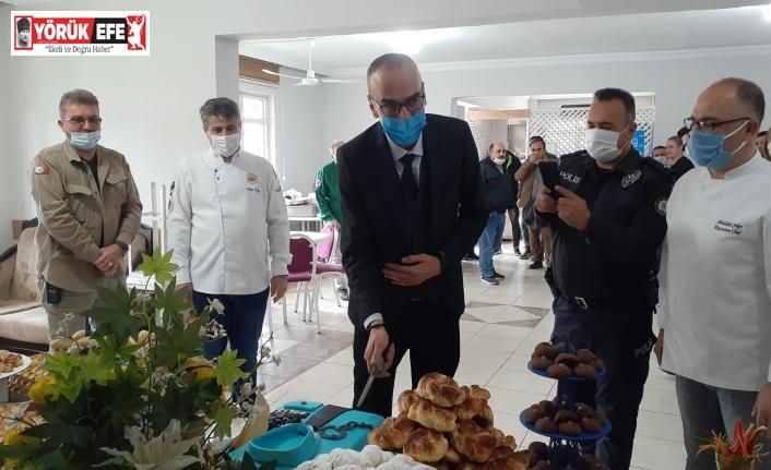 Profesyonel aşçılar Söke polisinin haftasını kutladı