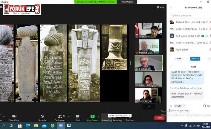 Uzman mezar taşları rehber eğitimi sona erdi