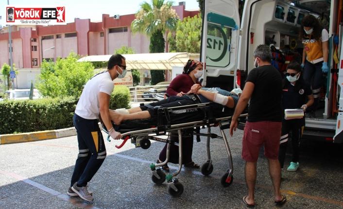 Kurban keserken kendini yaralayanlar hastanelere koştu