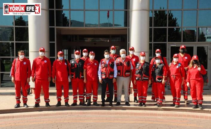 ADÜ'den Karacasu'ya arama kurtarma desteği