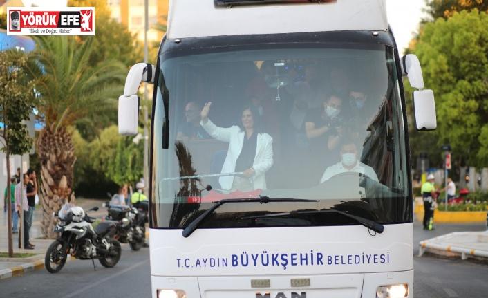 Başkan Çerçioğlu Zafer Bayramı'nı Aydınlılarla birlikte kutladı