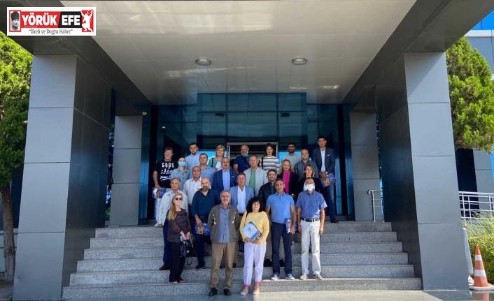 ADÜ'nün ortağı olduğu Avrupa Birliği projesinin ilk toplantısı gerçekleştirildi