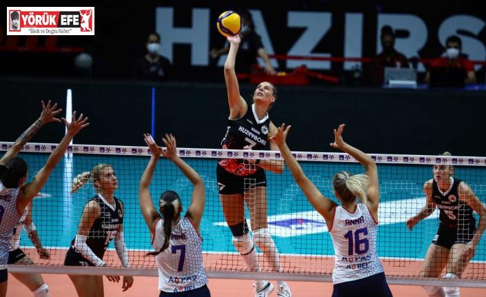 Aydın Büyükşehir, ilk maçtan mağlubiyetle ayrıldı