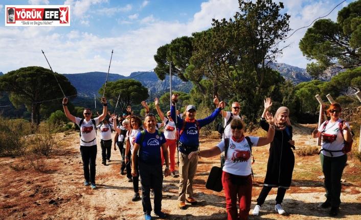Bosnalı Dağcılar Söke'nin coğrafyasına hayran kaldı