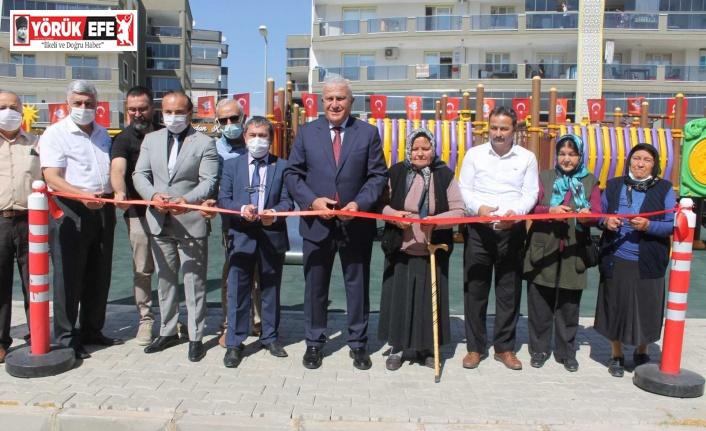 Efeler Belediyesi'nden anlamlı park açılışı