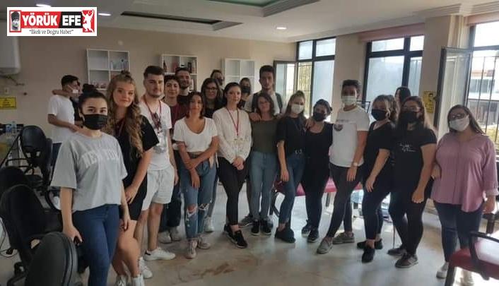 Efeler Mesleki Eğitim Merkezi, 'Erasmus +KA105 Sen de Yapabilirsin' projesi başladı