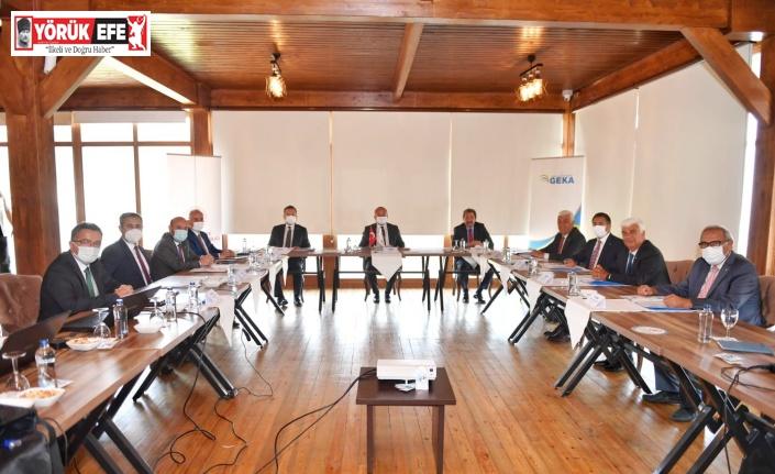GEKA 143'üncü yönetim kurulu toplantısı Denizli'de gerçekleştirildi
