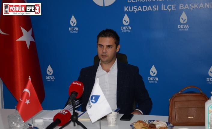 İlçe Başkanı Alp, evinin siyasi gerekçelerle mühürlendiğini iddia etti
