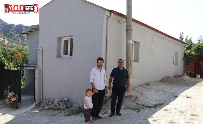 Kestel Mahallesi'ndeki imam evi Başkan Özcan'ın talimatıyla yenilendi