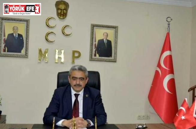 MHP İl Başkanı Alıcık, Menderes ve arkadaşlarını andı