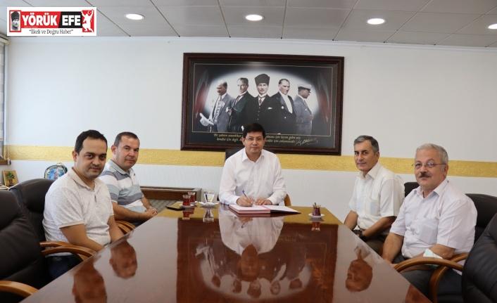 Nazilli Belediyesi ile Tapu Sicil Müdürlüğü arasında protokol imzalandı