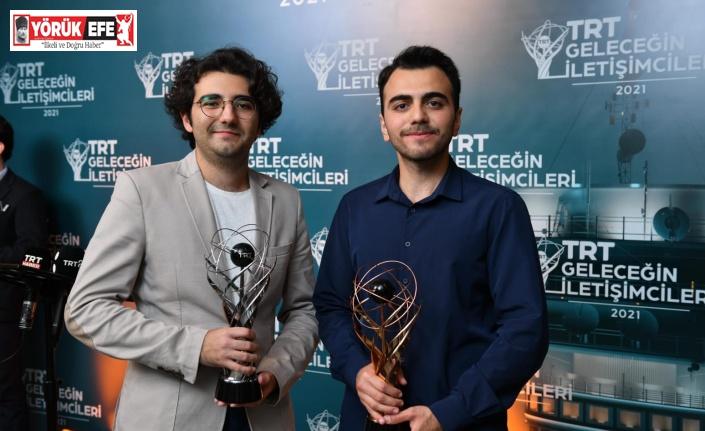 ADÜ öğrencisi Demir, 'TRT Geleceğin İletişimcileri Yarışması'nda üçüncü oldu