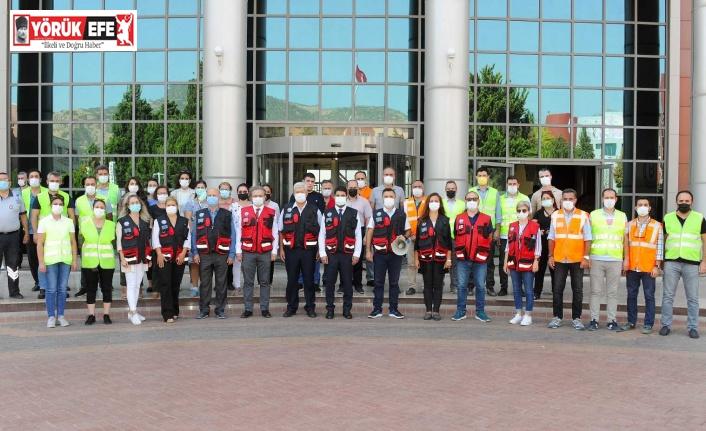 ADÜ'de 'Acil Durum Eğitimi ve Tatbikatı' gerçekleştirildi