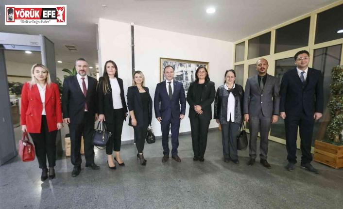 Aydın Barosu, Başkan Çerçioğlu ile görüştü