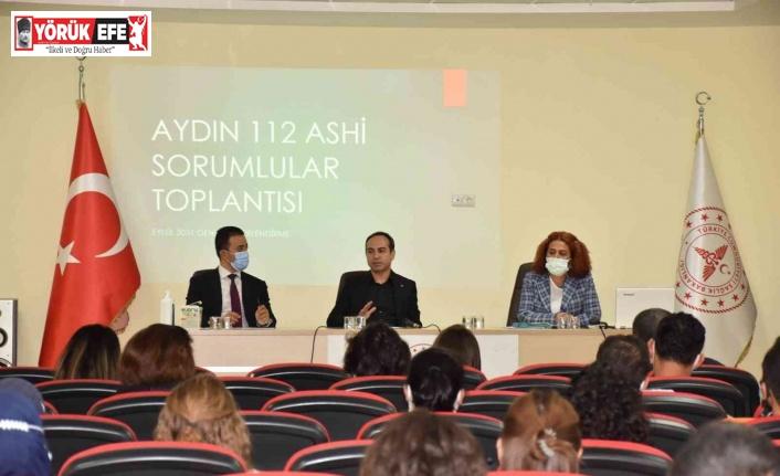 Aydın'da 'Acil Sağlık Hizmetleri İstasyonları Genel Değerlendirme Toplantısı' gerçekleştirildi