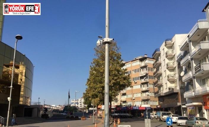 Aydın'da kameralardan tespit edilen 105 kişi uyarıldı