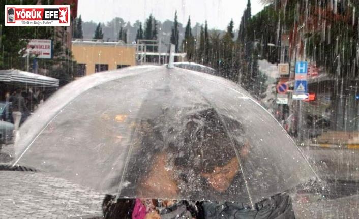 Aydın'da yağışlı hava etkisini sürdürecek