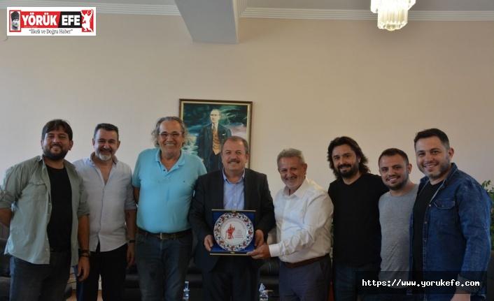 BAYRAM KARAKAŞ'TAN AYESOB'A ZİYARET