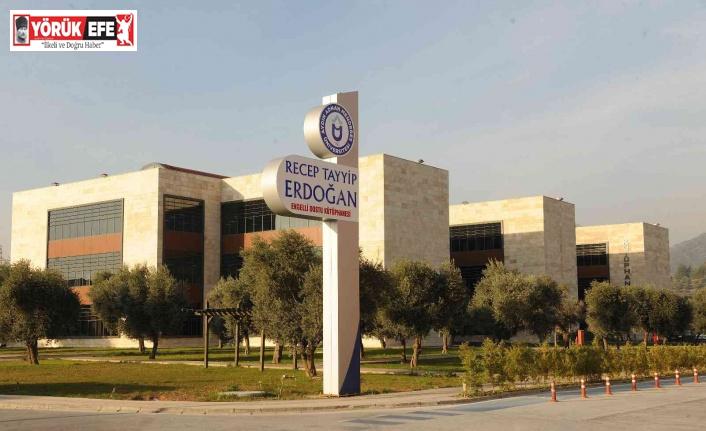 Recep Tayyip Erdoğan Kütüphanesi 2021-2022 Akademik Yılı'na hazır