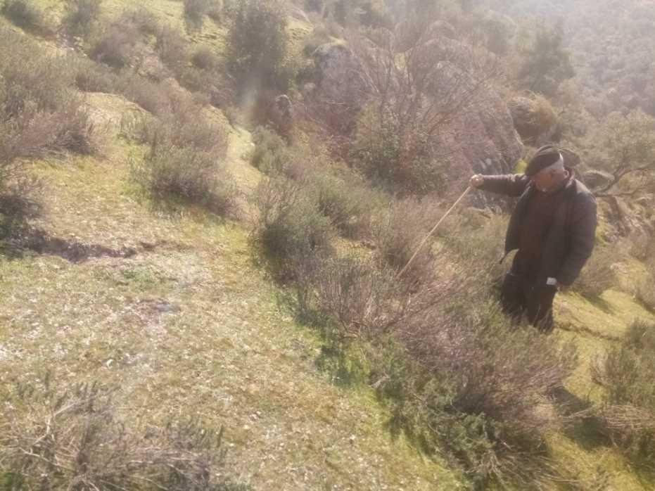 Maden Firmasının Çalışmaları Sonucu Arazisi Göçen Şahıs Yetkililerden Yardım İstedi