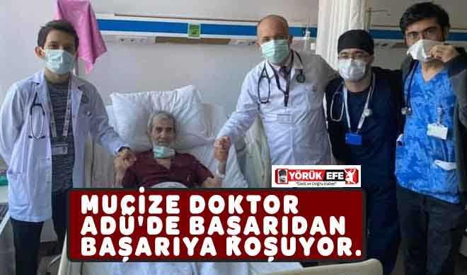 MUCİZE DOKTOR ADÜ'DE BAŞARIDAN BAŞARIYA KOŞUYOR.