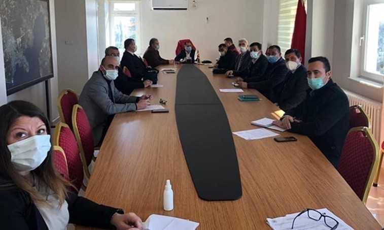 Didim'De İlçe Afet Yönetim Merkezi Toplantısı Gerçekleştirildi