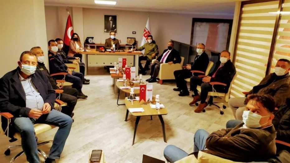 Kuşadası'Nda İlçe Danışma Kurulu Toplantısı Gerçekleştirildi