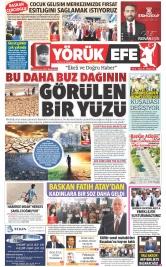 Yörük Efe Gazetesi ®️ | Aydın Haberler - sayı 76 Manşeti