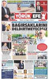 Yörük Efe Gazetesi ®️ | Aydın Haberler - sayı 77 Manşeti