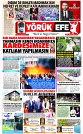 Yörük Efe Gazetesi ®️ | Aydın Haberler - 05.07.2021 Manşeti