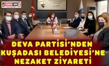 DEVA PARTİSİ'NDEN KUŞADASI BELEDİYESİ'NE NEZAKET ZİYARETİ