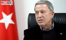 Bakan Akar: 'Türk Silahlı Kuvvetleri gücünü bir kez daha dünyaya gösterdi'
