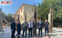 İl Sağlık Müdürü Açıkgöz, 112 istasyonu inşaatını inceledi