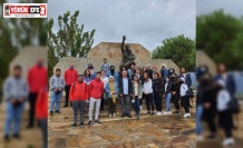 Köşk'e gelen üniversite öğrencileri, Karatepe Şehitleri hakkında bilgilendirildi