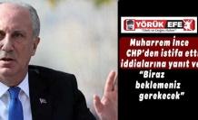 Muharrem İnce, CHP'den istifa ettiği iddialarına yanıt verdi: Biraz beklemeniz gerekecek