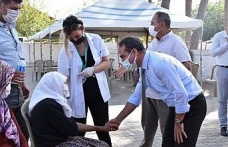 Aydın'da aşı ikna çalışmaları aralıksız sürüyor